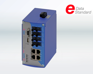 Ethernet switches and media converters can now be seamlessly integrated into Eplan projects